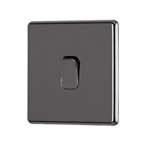 Black Nickel Arlec Fusion Intimidate switch angle