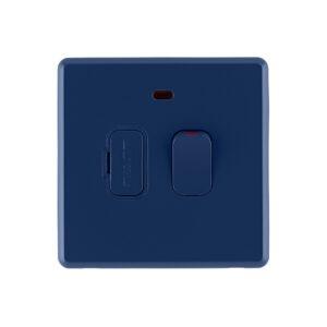 Galaxy blue rocker fused switch front