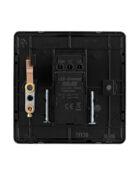 Black Nickel Arlec Fusion single dimmer switch back