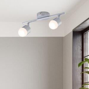 Pallas LED 2 lamp spotlight polished chrome 2