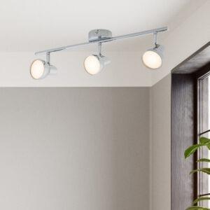 Apollo LED spotlight 3 lamp bar chrome 2