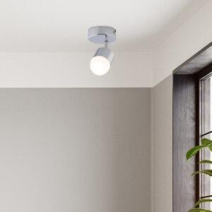 Pallas LED spotlight single polished chrome 2