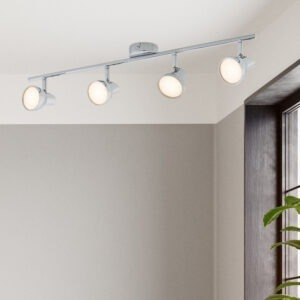 Apollo LED spotlight 4 lamp bar chrome 2