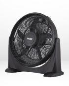 20 Inch Plastic Floor Fan Black