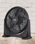20 Inch Plastic Floor Fan Black 4