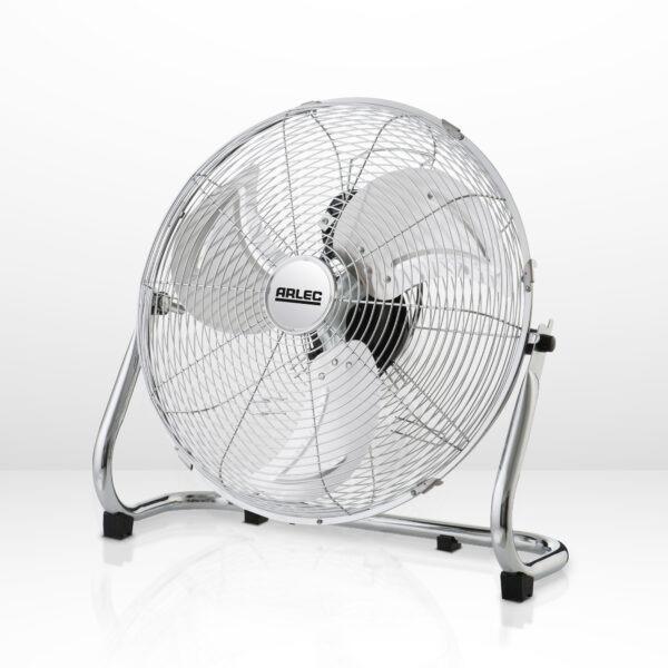 18inch floor fan chrome