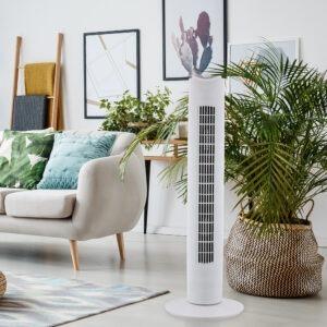 31 Inch Tower Fan White 2