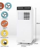 Portable Air Conditioner, 12000 BTU 3