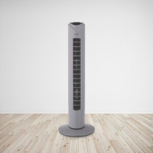 31 Inch Tower Fan with Remote Grey 2